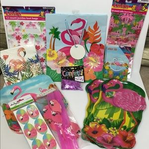 Other - Large lot of Flamingo Party Supplies!